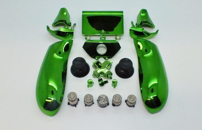 NICKEL BULLET ABXY AND GUIDE WITH CHROME GREEN MOD KIT